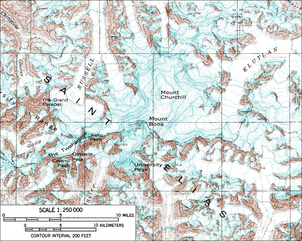 Churchill Alaska Map.Avo Image 651 Churchill Mt Bona Mt
