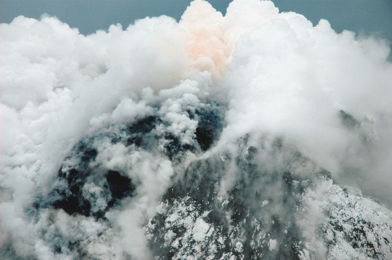 Augustine volcano, 1/16/2006